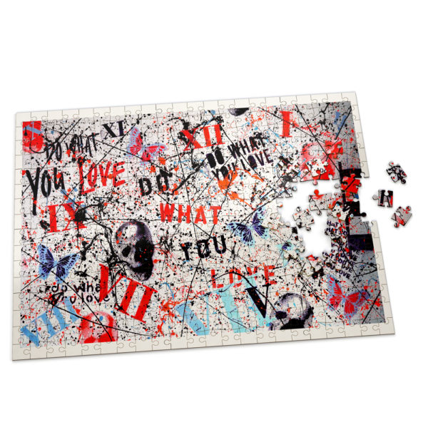 Do What You Love Puzzle - Artwork by Sergey Gordienko @dowhatyoulove.artist