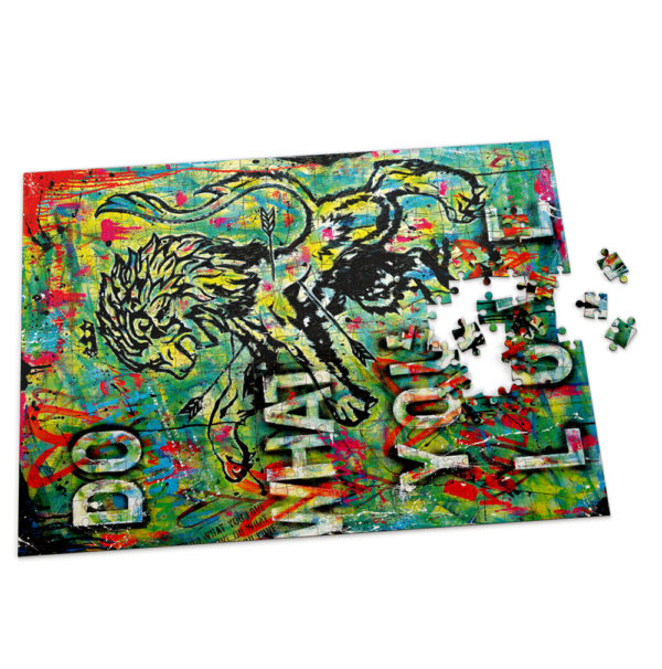 Puzzle - Do What You Love board game